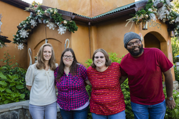 Some of Disney's friends at The Augusta Training Shop were invited to enjoy their work! Photo credits (C) Disney Enterprises, Inc. All Rights Reserved