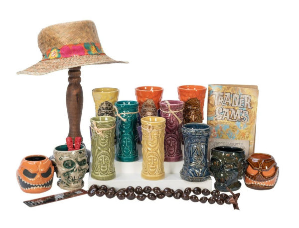 Trader Sam's and Tiki Mugs