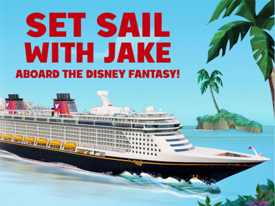 Win a trip on the Disney Cruise Lines!