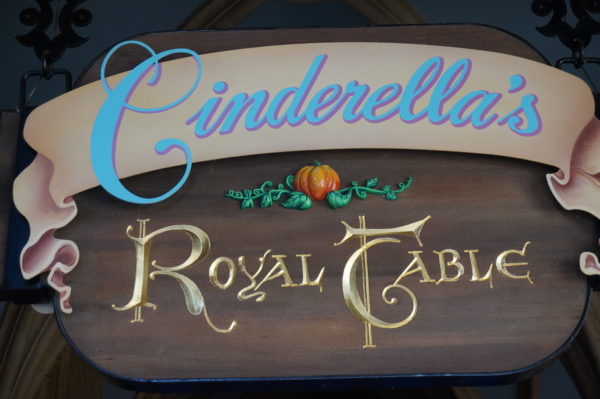Cinderellas Royal Table will close for a few days in winter 2018.