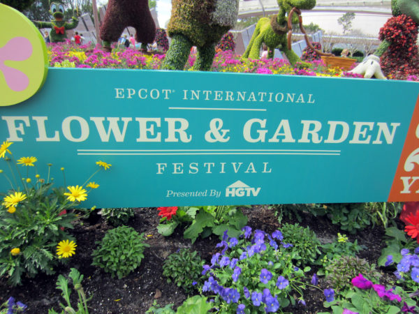 The Epcot Flower and Garden Festival is back in 2017 for a record-breaking 90 days!