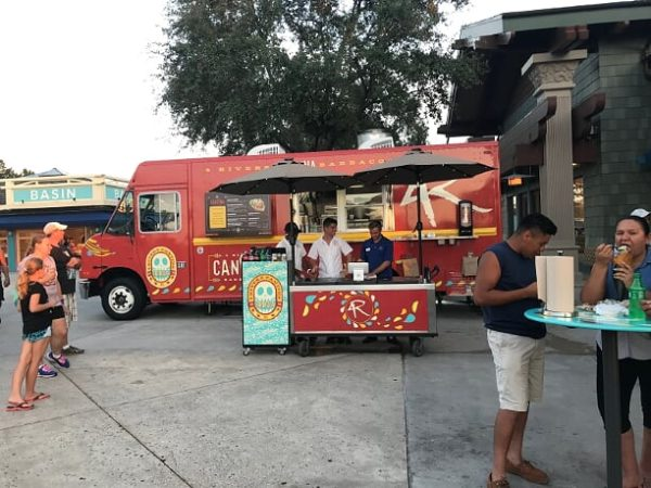 4 Rivers Restaurant Group is known for its walk up locations in the Disney ESPN Wide World of Sports Complex and for its food truck in Disney Springs!
