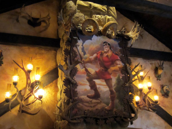 Gaston certainly didn't check his ego at the door of his Tavern.