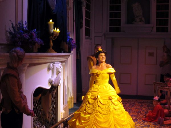 See Belle in Beast's Castle in Enchanted Tales with Belle.