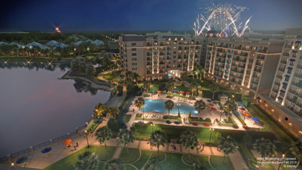 The resort offers incredible views all around from the lakefront view to sights of Epcot and Hollywood Studios! Photo credits (C) Disney Enterprises, Inc. All Rights Reserved