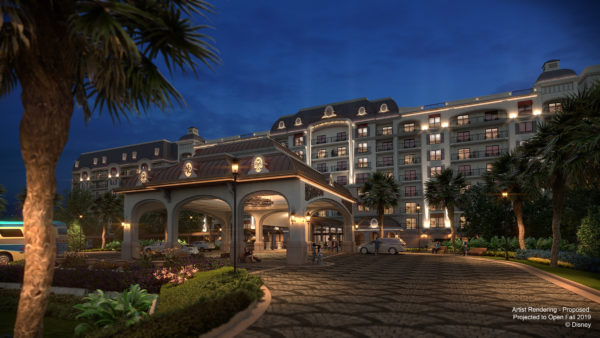 Disney's Riviera Resort is reminiscent of the European Riviera, where Walt and Lillian Disney enjoyed vacationing. Photo credits (C) Disney Enterprises, Inc. All Rights Reserved