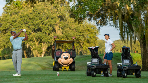 Robo carts arrive at Disney World. Photo credits (C) Disney Enterprises, Inc. All Rights Reserved