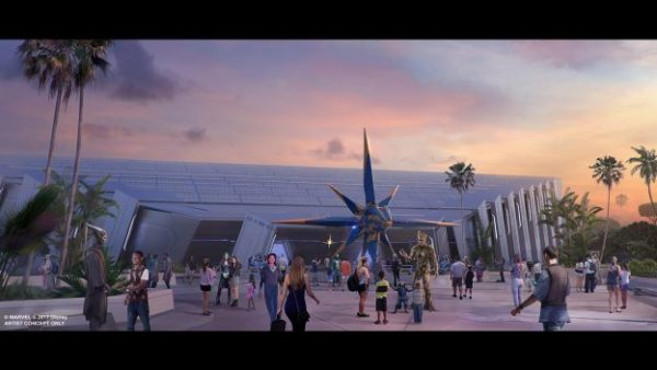 Marvel's Guardians of the Galaxy are coming to EPCOT! Photo credits (C) Disney Enterprises, Inc. All Rights Reserved
