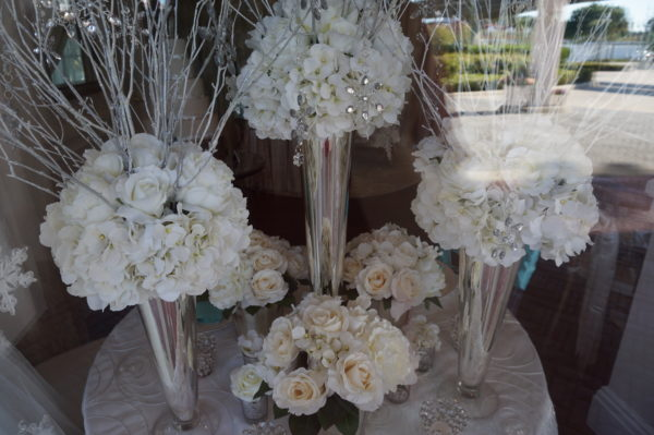 Your Disney Wedding Planner can help you with everything including flower arrangements.