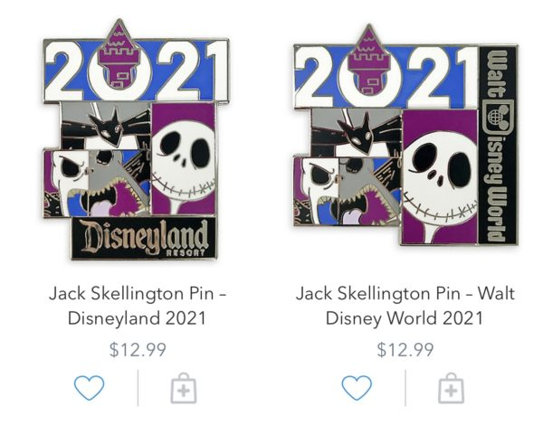 Nightmare Before Christmas 2021 Pins Photo credits (C) Disney Enterprises, Inc. All Rights Reserved