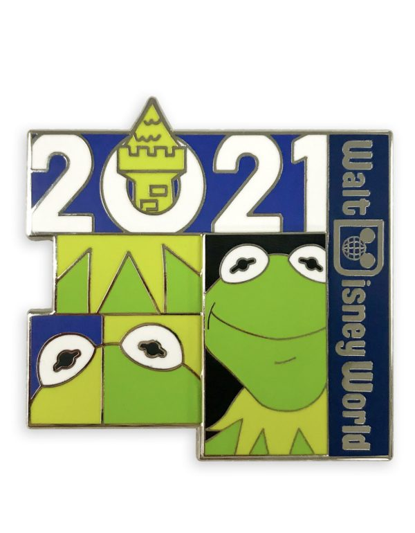 Kermit The Frog 2021 Pins Photo credits (C) Disney Enterprises, Inc. All Rights Reserved