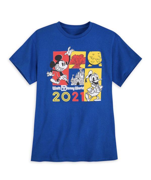 WDW 2021 Shirt Photo credits (C) Disney Enterprises, Inc. All Rights Reserved