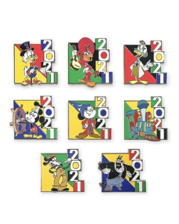 2021 Pins Photo credits (C) Disney Enterprises, Inc. All Rights Reserved