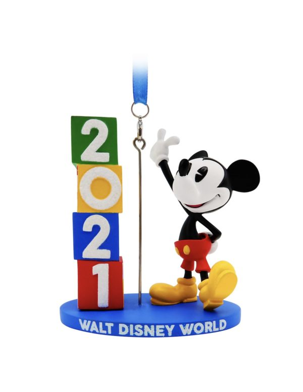 2021 Mickey Ornament Photo credits (C) Disney Enterprises, Inc. All Rights Reserved