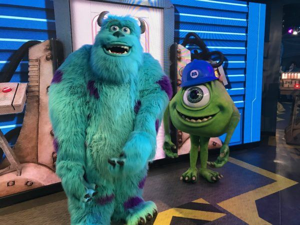Meet Mike and Sully at Disney's Hollywood Studios.