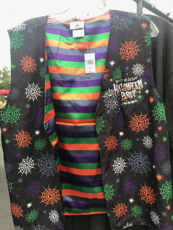 Mickey's Not So Scary Halloween Party vest - $36.99
