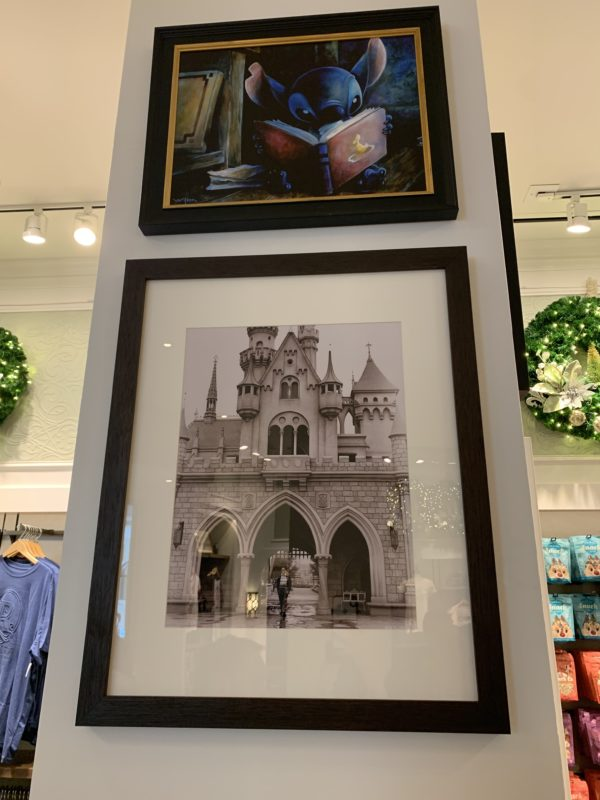 Just look for the square tower in the middle of the store, and order below. There's even more artwork above!