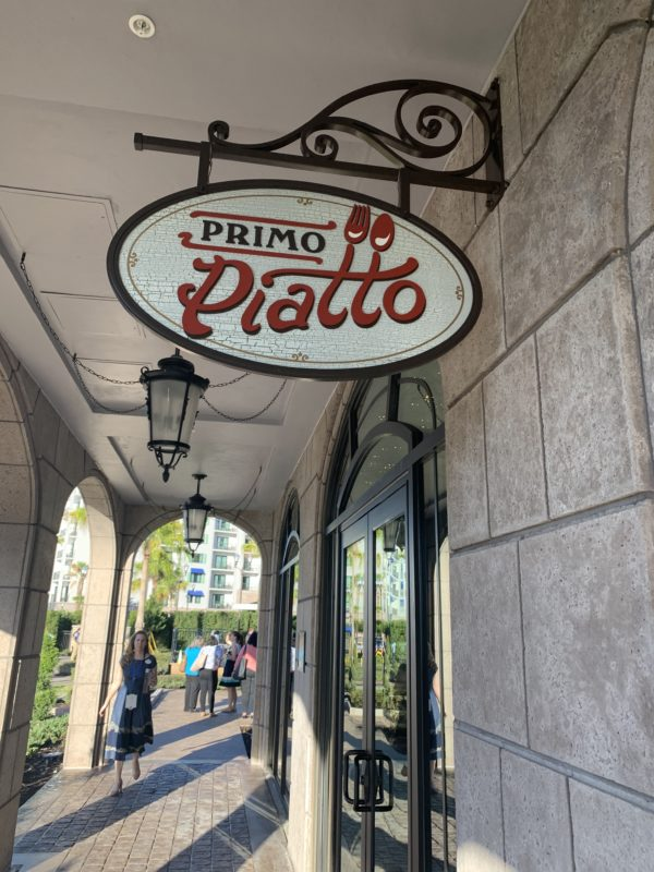 Primo Piatto is located on the first floor of the Resort next to Bar Riva and near the feature pool.
