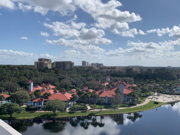 Check out this view of Disney's Caribbean Beach Resort!