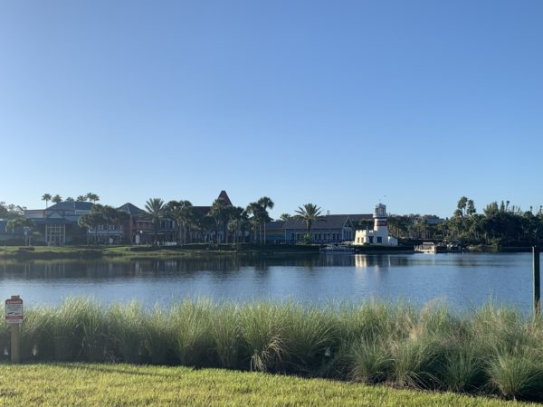 The property that is now Disney's Riviera Resort used to belong to Disney's Caribbean Beach Resort, which can clearly be seen from Riviera and accessed by walking around the path of Barefoot Bay.