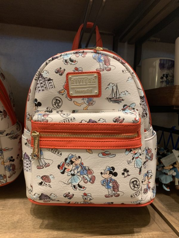 These Loungefly Backpacks are very popular right now, and this one is a brand new style from the Riviera!