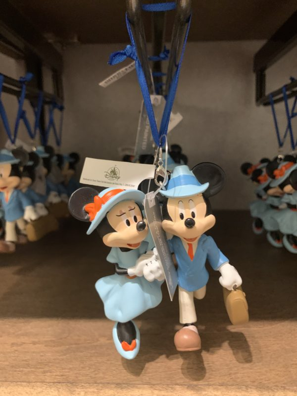 Mickey and Minnie are off to travel the European Riviera. This seems reminiscent of Walt and Lillian!