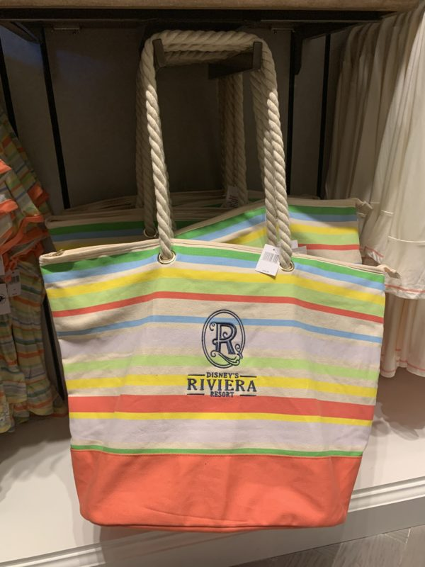 This bag is very large- perfect for hauling pool stuff or your other souvenirs home!