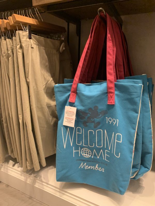"This ""Welcome Home"" DVC tote is great for the pool or park or resort hopping!"