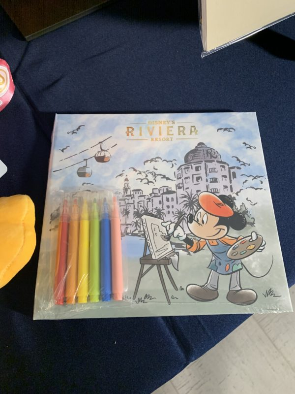 The kids will love this Riviera coloring book!
