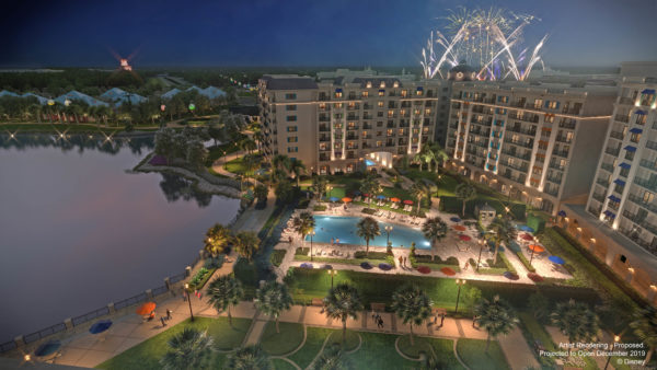 See fireworks from both Epcot and Disney's Hollywood Studios from Disney's Riviera Resort! Photo credits (C) Disney Enterprises, Inc. All Rights Reserved