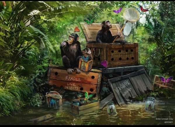 Jungle Cruise. Photo credits (C) Disney Enterprises, Inc. All Rights Reserved
