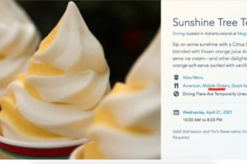 Mobile Order Option Now Appears on Sunshine Tree Terrace's Landing Page