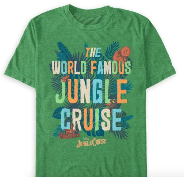 The World Famous Jungle Cruise Flora and Fauna T-Shirt.  Photo credits (C) Disney Enterprises, Inc. All Rights Reserved