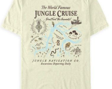 The World Famous Jungle Cruise Map T-Shirt