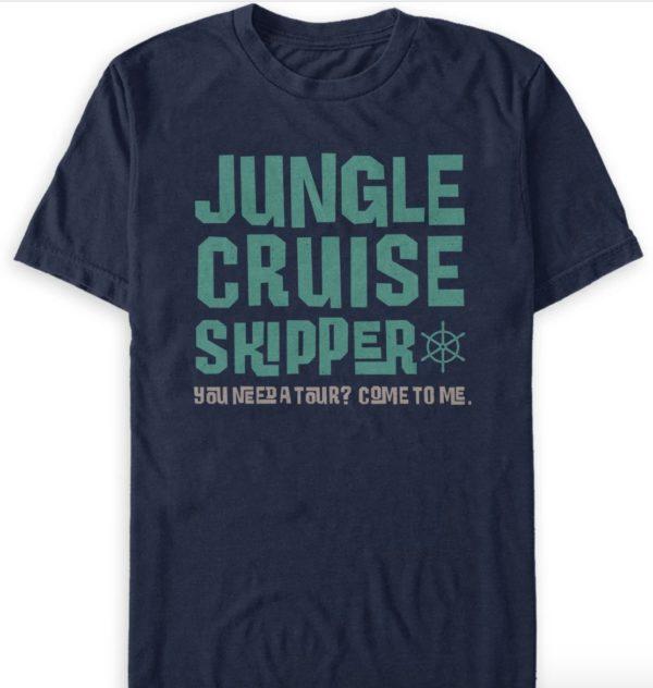 Jungle Cruise Skipper T-Shirt for Adults.  Photo credits (C) Disney Enterprises, Inc. All Rights Reserved