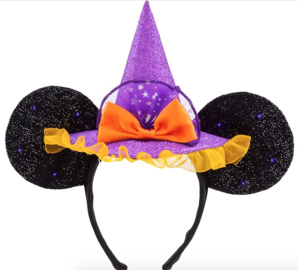 Minnie Mouse Witch Ear Headband for Adults $27.99.  Photo credits (C) Disney Enterprises, Inc. All Rights Reserved