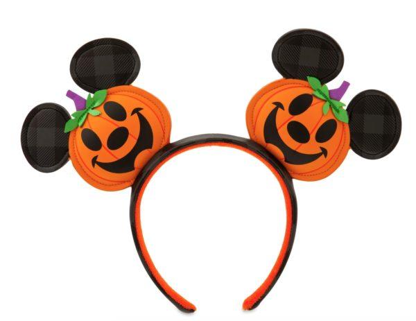 Mickey Mouse Jack-o'-Lantern Ear Headband $29.99. Photo credits (C) Disney Enterprises, Inc. All Rights Reserved