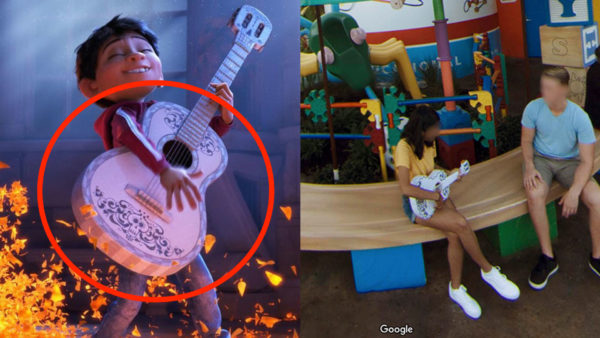 Coco was released long after the first Toy Story movie, but you can spot a guest serenading us with Miguel's guitar.Photo credits (C) Disney Enterprises, Inc. All Rights Reserved