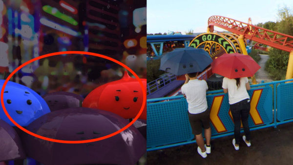 The Blue Umbrella, the short that appeared before the Monsters University movie, is referenced in this Street View. Photo credits (C) Disney Enterprises, Inc. All Rights Reserved