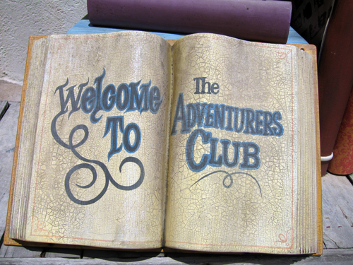 The Adventurers Club was a unique 1930s style club that provided an immersive Live Action Role Playing experience.