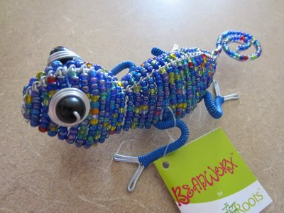 Win this Beadworx lizard.