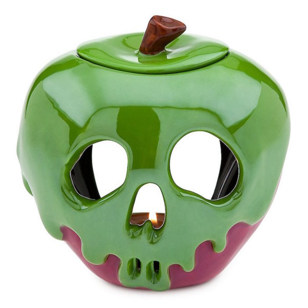 Fun and spooky merchandise to taken home, like this poison apple candle. Photo credits (c) Disney Enterprises, Inc. All Rights Reserved
