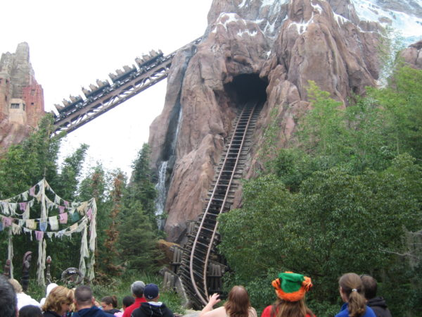 Expedition Everest is for taller children, so your kids might be ready for this around five or six!