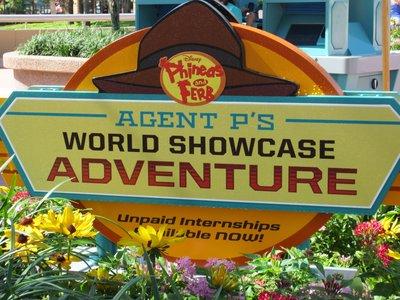 Agent P World Showcase Adventure Game