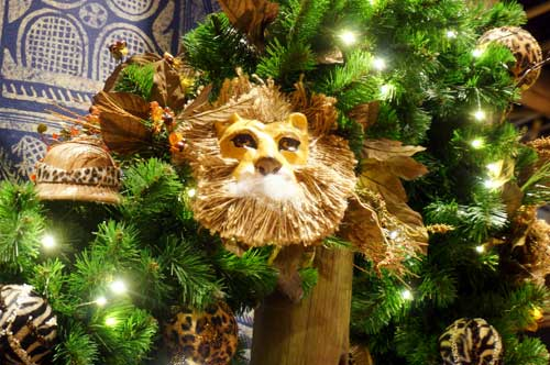 It s christmas in africa decorations in disney s animal for African christmas decoration