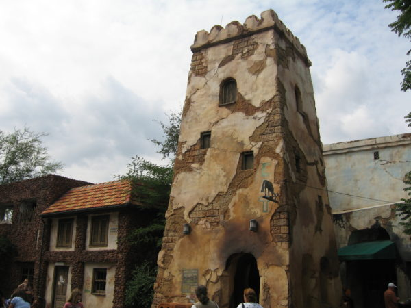 Harambe Fort plays an important part in the backstory of the land, and it also provides a great place to rest and get away from the crowds.