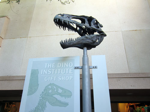 Dinosaur: loud and scary.