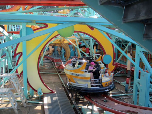 Primeval Whirl fits into the fun Dinoland backstory.