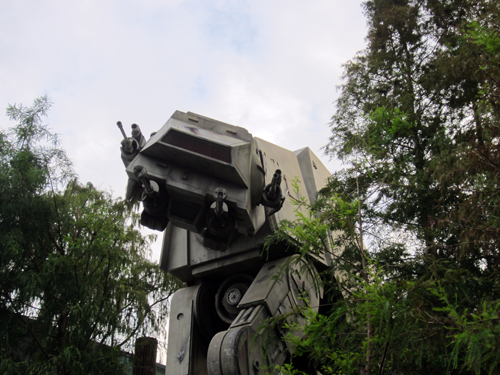 Snap a picture with an AT-AT and you'll realize just how big it really is!