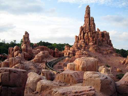 Big Thunder Mountain Railroad is a Disney Classic and a great photo op.